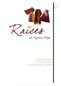 Raices, por Eugenia Prego